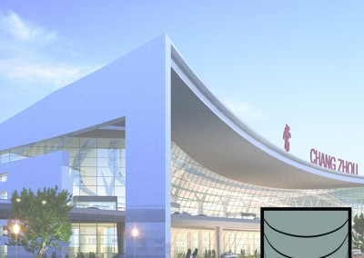 Airport International Competition. Chang Zhou (China)